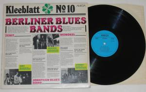 KLEEBLATT No 10 Berliner Blues Bands (Vinyl)