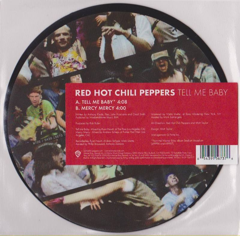 054391567376 Red Hot Chili Peppers Tell me Baby Picture 7 ...