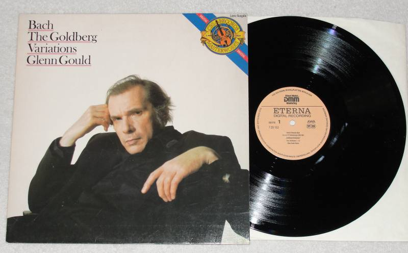 bach the goldberg variations glenn gould vinyl. Black Bedroom Furniture Sets. Home Design Ideas