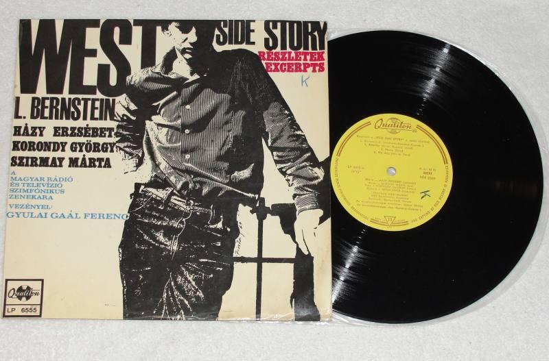 WEST-SIDE-STORY-Leonard-Bernstein-10-Vinyl-LP-Qualiton-Hungary-1967-RARE