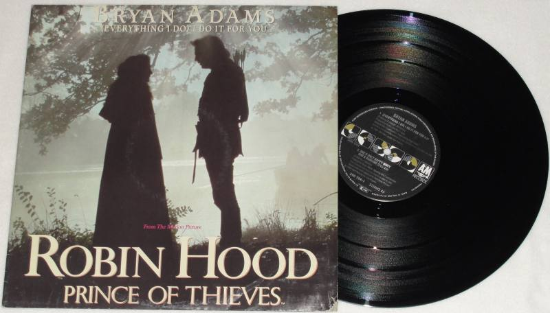 Bryan Adams Everything I Do I Do It For You Vinyl Robin Hood