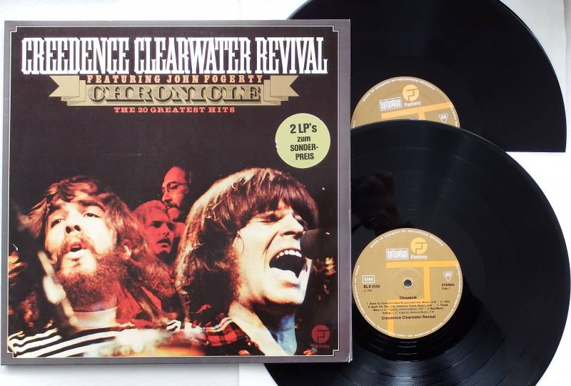 creedence clearwater revival chronicle 20 greatest hits vinyl. Black Bedroom Furniture Sets. Home Design Ideas