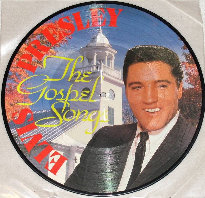 ELVIS PRESLEY The Gospel Songs LP Picture Vinyl Soundcity Music