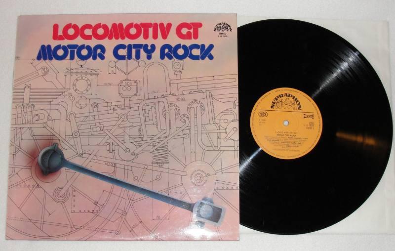 Locomotiv gt motor city rock vinyl for Motor city bad beat