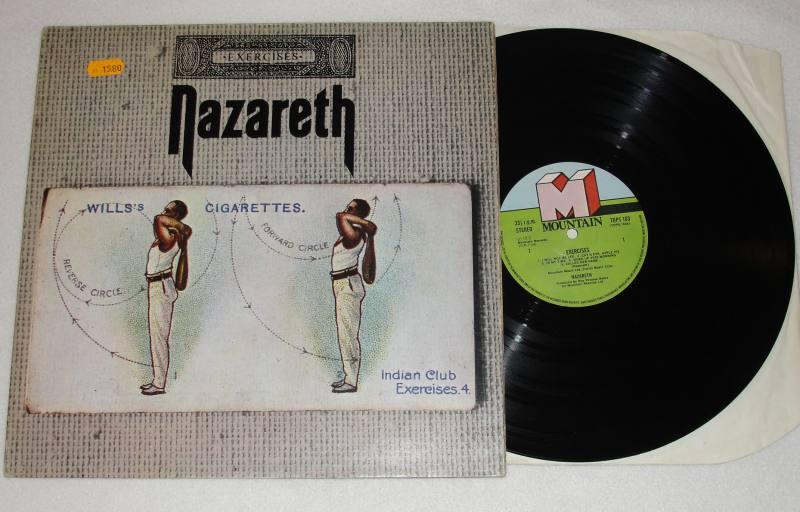Nazareth Exercises Vinyl