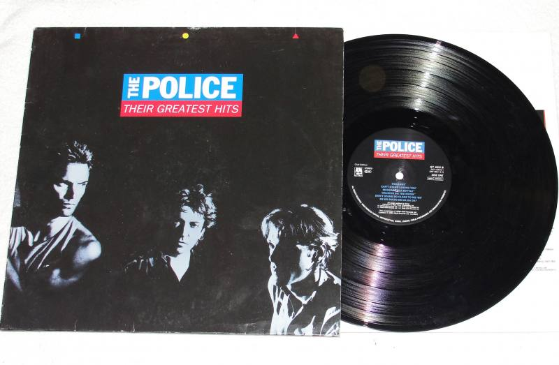 The Police Their Greatest Hits Vinyl