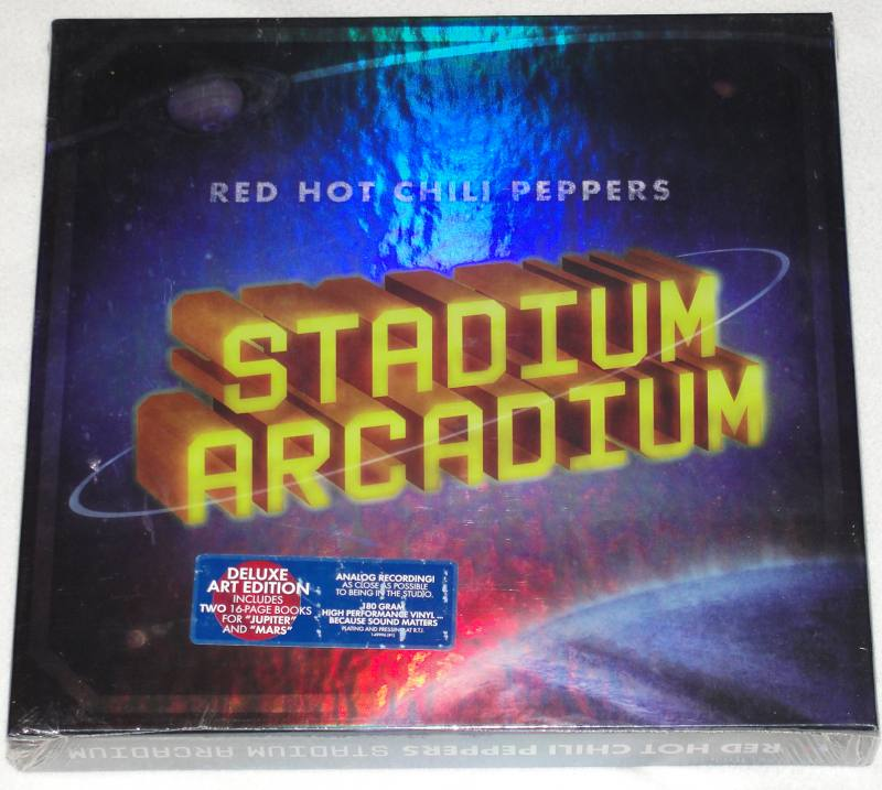 Red Hot Chili Peppers Stadium Arcadium Art Deluxe Vinyl Box