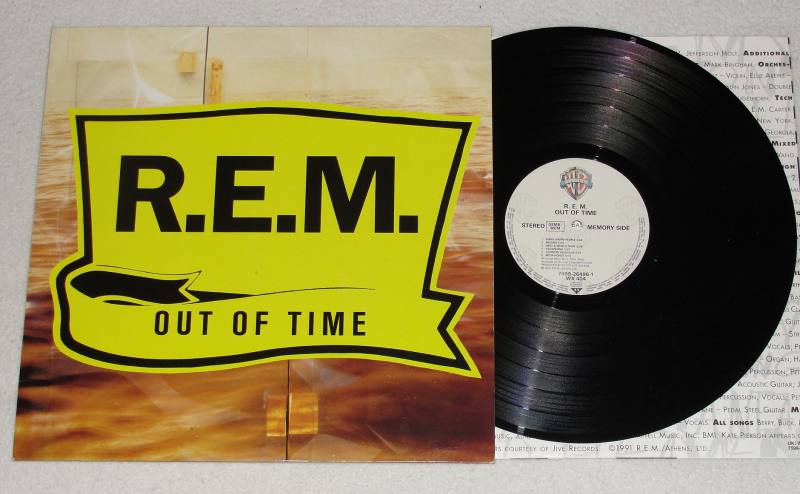 R E M Out Of Time Vinyl