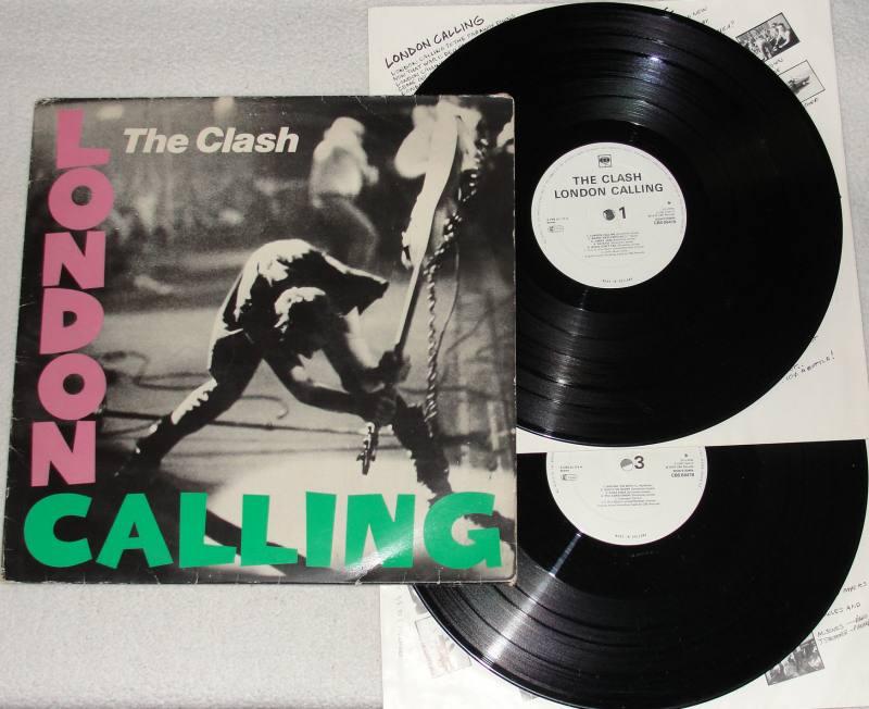 The Clash London Calling Lp Vinyl Cbs 1979 Soundcity Music