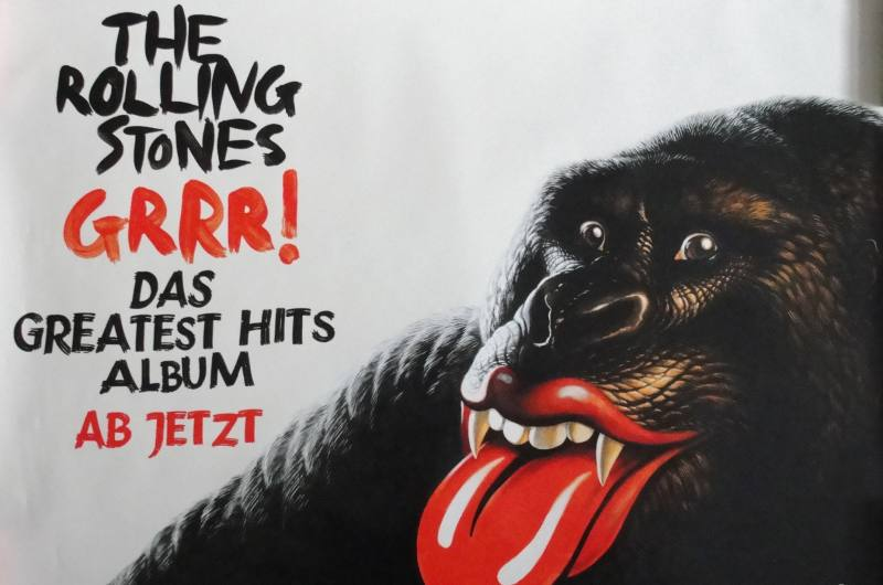 The Rolling Stones Grrr Poster
