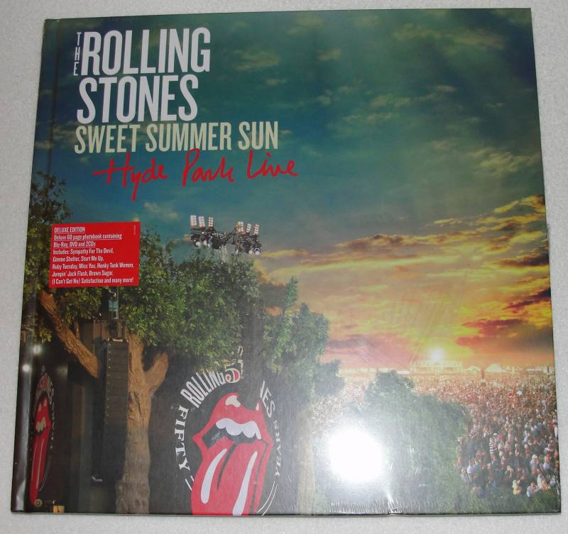 The Rolling Stones Sweet Summer Sun Hyde Park Live Deluxe