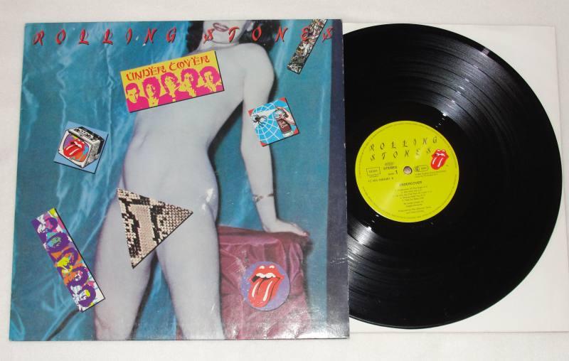 The Rolling Stones Undercover Vinyl