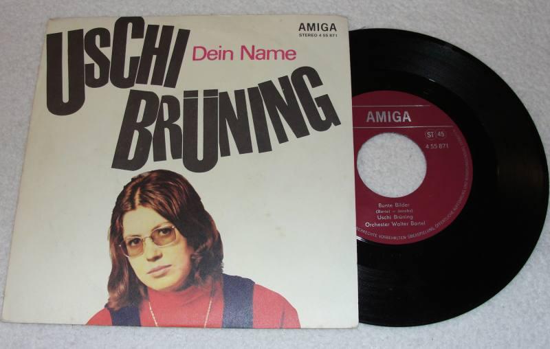 Uschi Brüning & Orchester Walter Bartel - Dein Name / Bunte Bilder