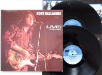 RORY GALLAGHER Live In Europe (Vinyl)